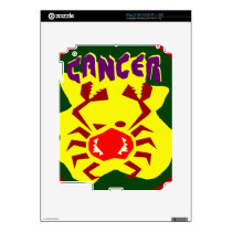 Cancer Badge Skin For The iPad 2
