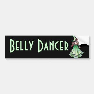 Cancer Belly Dancer Bumper Sticker