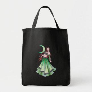 Cancer Belly Dancer Tote Bag