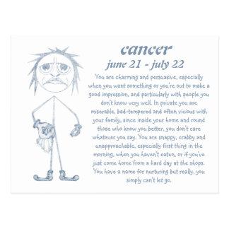 Cancer [ - BitchScope - ] Postcard