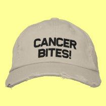 CANCER BITES! BASEBALL CAP