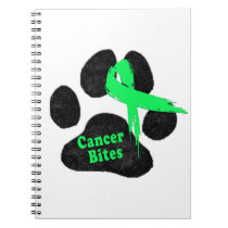 Cancer Bites Quote  - Hodgkins Lymphoma Cancer - L Notebook