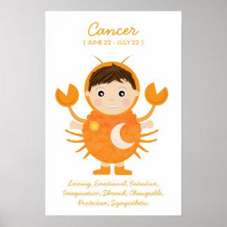 Cancer - Boy Horoscope Poster