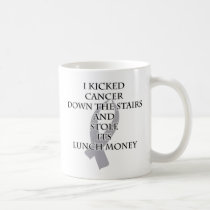 Cancer Bully (Gray Ribbon) Coffee Mug