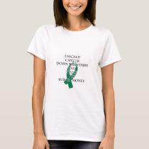 Cancer Bully (Green Ribbon) T-Shirt