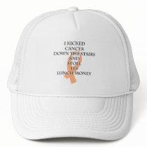 Cancer Bully (Peach Ribbon) Trucker Hat