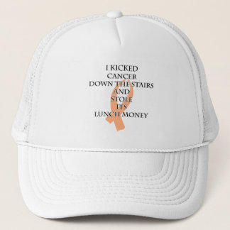 Cancer Bully (Peach Ribbon) Trucker Hat