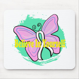 cancer butterfly mouse pad