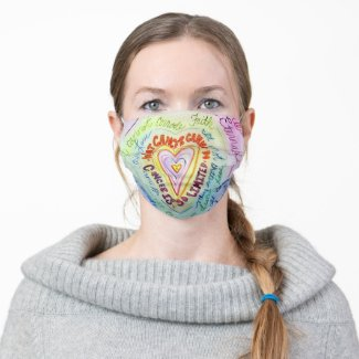 Cancer Cannot Do Poem Art Custom Face Masks
