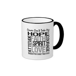 Cancer Can't Take My Hope Brain Cancer Coffee Mug