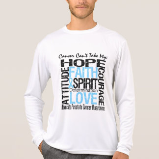 Cancer Can't Take My Hope Collage Prostate Cancer Shirts