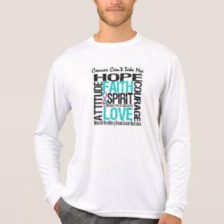 Cancer Can't Take My Hope Hereditary Breast Cancer Tshirts