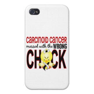 Cáncer carcinoide ensuciado con el polluelo iPhone 4/4S funda