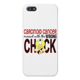 Cáncer carcinoide ensuciado con el polluelo iPhone 5 carcasas