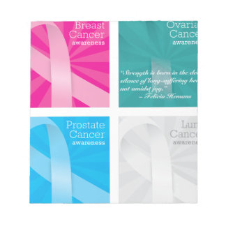 cancer cards notepad