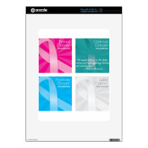 cancer cards skin for iPad