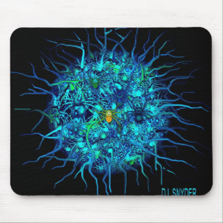 CANCER CELL-3 MOUSE PAD