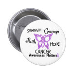 Cancer Celtic Butterfly 3 Button