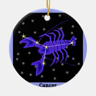 Cancer Ceramic Ornament