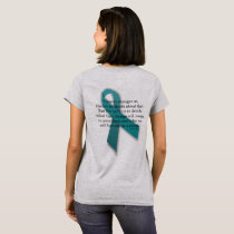 Cancer Changes Us inspiriational tee