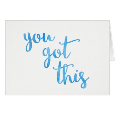 stripedhatstudio Cancer Chemo Card, You Got This - Greeting Card