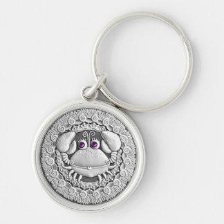Cancer Coin key chain