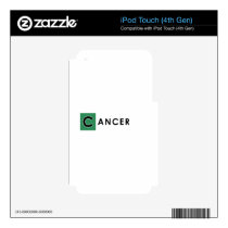 CANCER COLOR SKIN FOR iPod TOUCH 4G