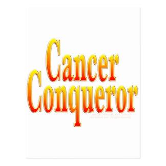 Cancer Conqueror Postcard
