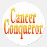 Cancer Conqueror Stickers