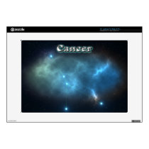 "Cancer constellation decals for 15"" laptops"