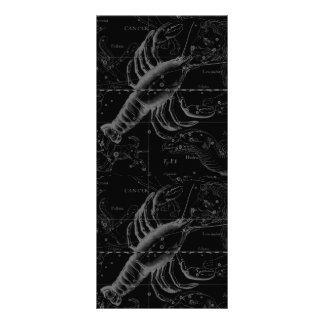 Cancer Constellation Hevelius 1690 Decor Rack Card