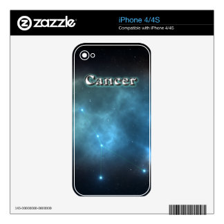 Cancer constellation iPhone 4 skin