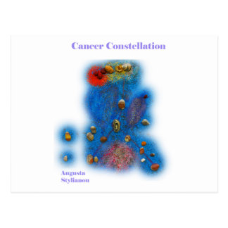 Cancer Constellation Post Cards