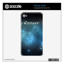 Cancer constellation skin for the iPhone 4