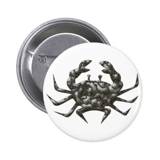 Cancer crab crawfish buttons