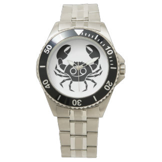 cancer crab greek astrology horoscope zodiac wristwatches