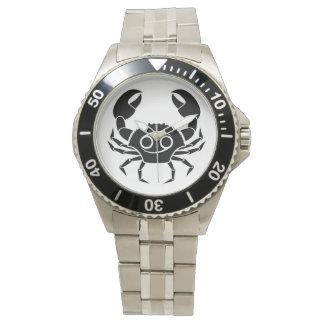cancer crab greek astrology horoscope zodiac wristwatches