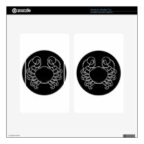 Cancer Crab Zodiac Sign Kindle Fire Decal