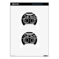Cancer Crab Zodiac Sign Xbox 360 Controller Decal