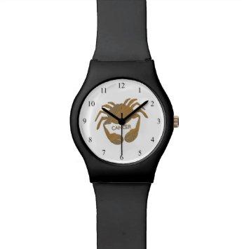 Cancer Crab Zodiac Watch