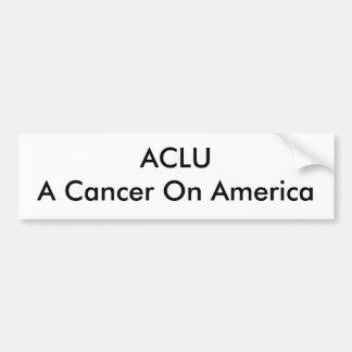 Cáncer de ACLUA en América Pegatina Para Auto