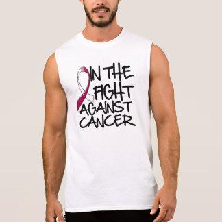 Cáncer de cabeza y cuello - en la lucha camiseta sin mangas