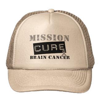 Cáncer de cerebro de la curación de la misión gorros