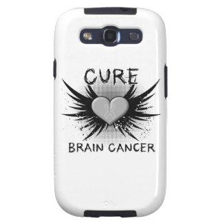 Cáncer de cerebro de la curación galaxy s3 funda