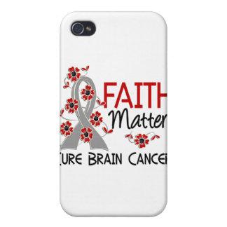 Cáncer de cerebro de Mers 3 de la fe iPhone 4/4S Carcasa