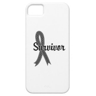 Cáncer de cerebro del superviviente 17 iPhone 5 carcasas