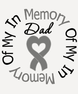 Cáncer de cerebro en memoria de mi papá camiseta