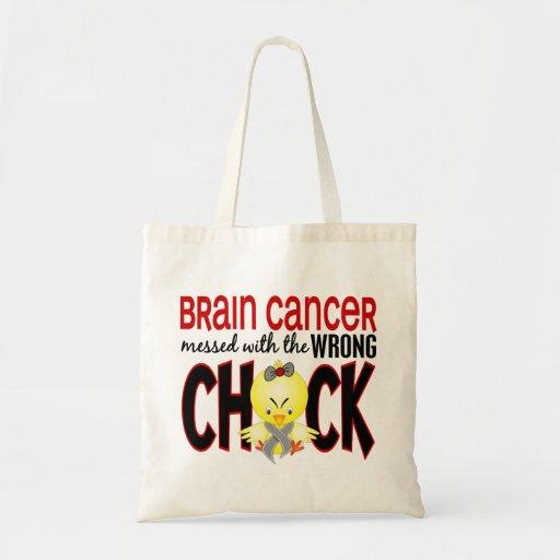 Cáncer de cerebro ensuciado con el polluelo incorr bolsa tela barata