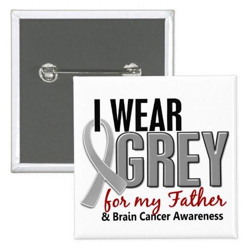 CÁNCER de CEREBRO llevo el gris para mi padre 10 Pin