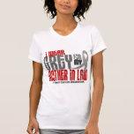Cáncer de cerebro llevo el gris para mi suegra 6,2 camiseta